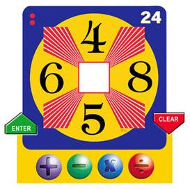 Images of Math 24 Game Cards