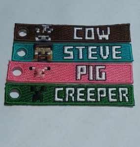 MineCraft Spirit Tags