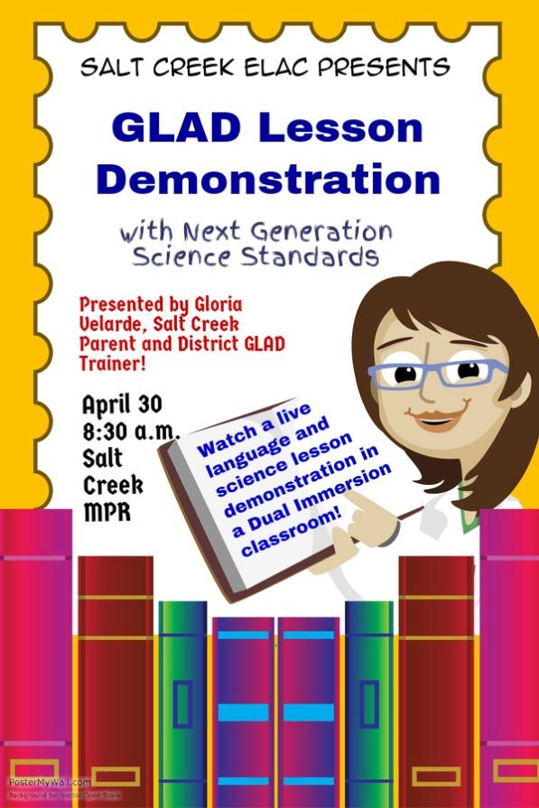 ELAC April Flyer