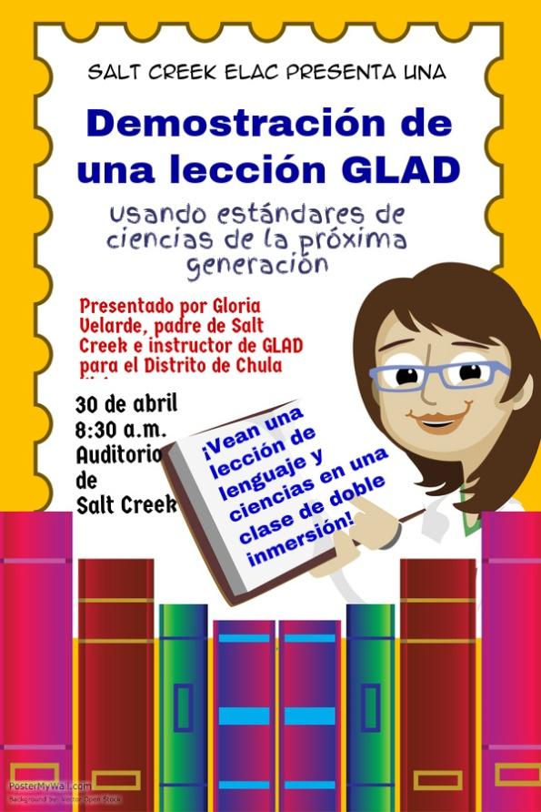 ELAC April Spanish