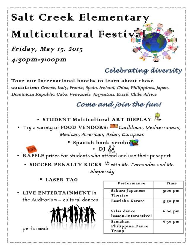 Multicultural Festival Flyer