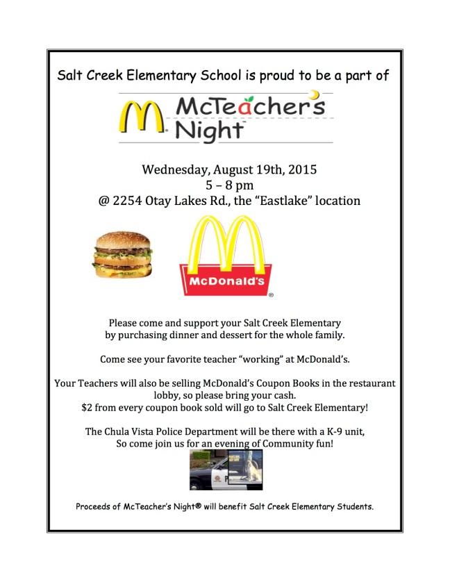 McTeacher's Night Flyer