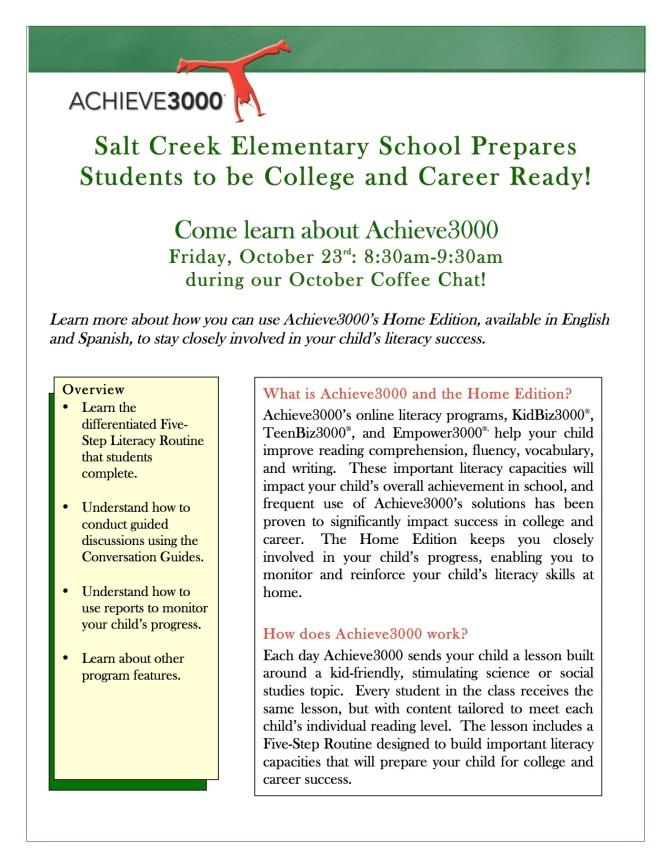Parent Invite-Salt Creek Oct 23