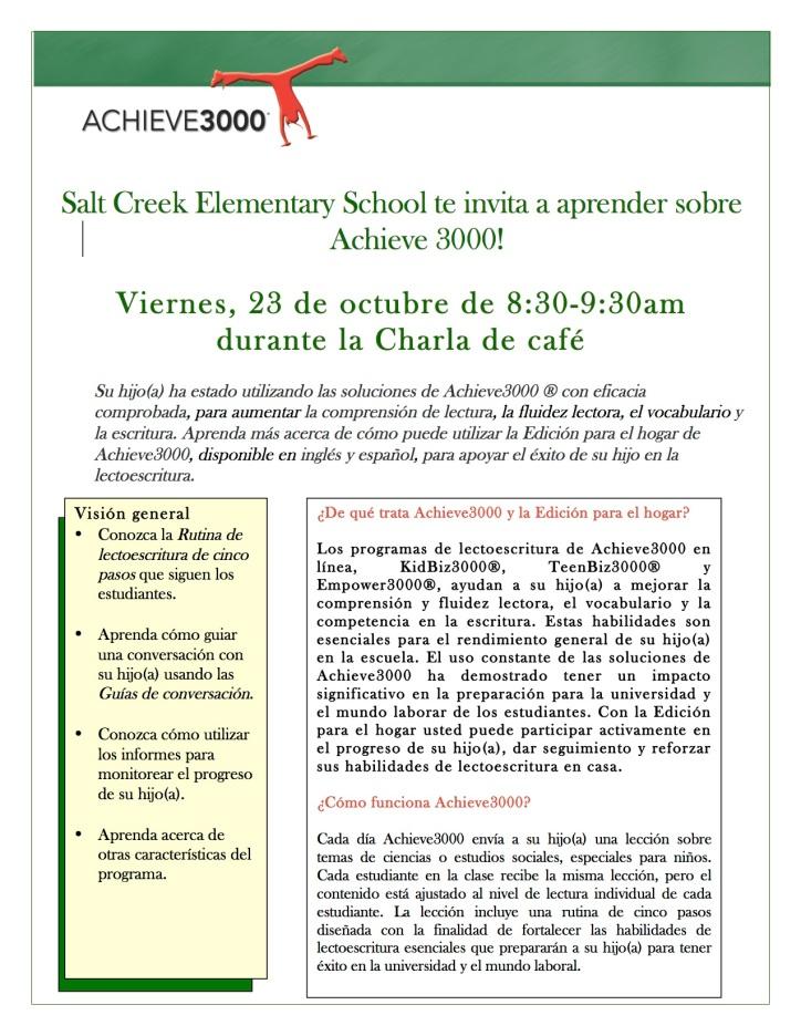 Parent Invite Spanish