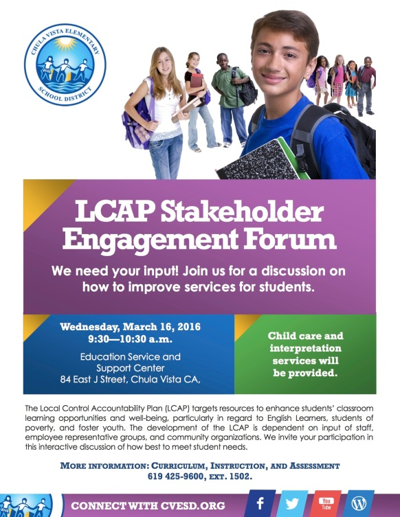 2016 LCAP Flyer