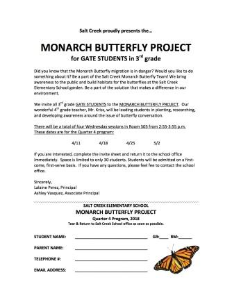 Monarch Q4 Grade 3