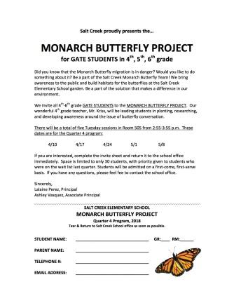 Monarch Q4 Grade 4-6